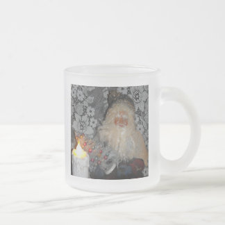 Santa Fixing Tree Coffee Mugs