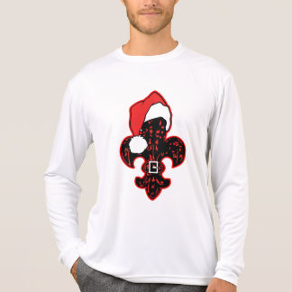 Santa Fleur de lis (1) t-shirt