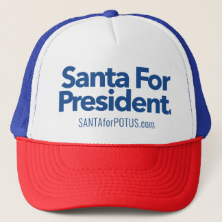 """Santa For President"" trucker hat"