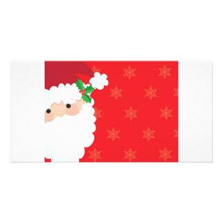 Santa Frame Photo Card Template