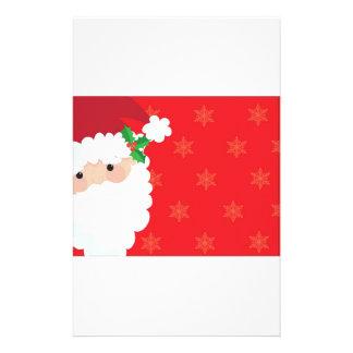 Santa Frame Stationery Design