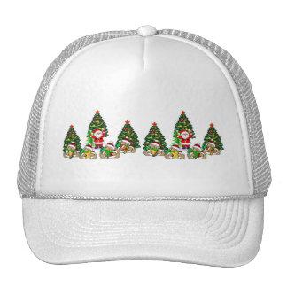 Santa Friends Trucker Hat