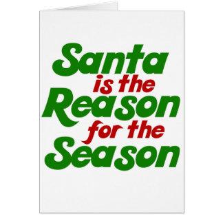 Santa funny christmas humor parody cards