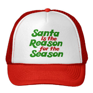 Santa funny christmas humor parody hat