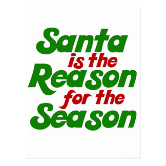 Santa funny christmas humor parody post cards