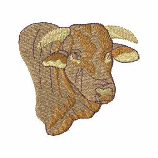 Santa Gertrudis Bull Embroidered Polo Shirt