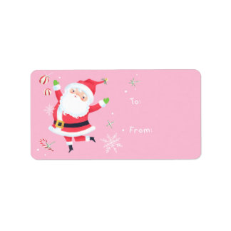 Santa Gift Address Label