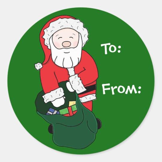 Santa Gift Tag