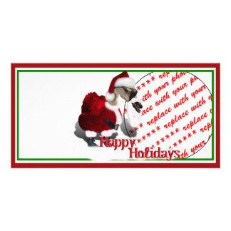 Santa Goose Photo Card