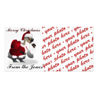 Santa Goose Photo Frame Photo Card Template