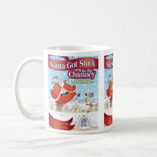 Santa Got Stuck in the Chimney Holiday Mug