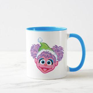Santa Hat Abby Mug