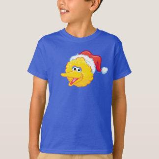 Santa Hat Big Bird T-Shirt