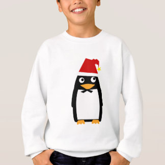 Santa Hat Penguin - Kids Sweatshirt