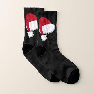 Santa Hat Socks 1