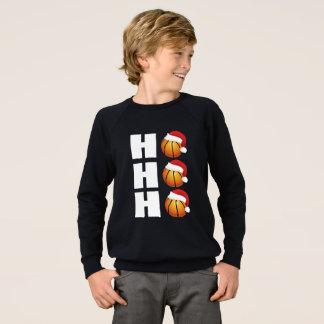Santa Hat T-Shirt Funny Basketball Christmas shirt