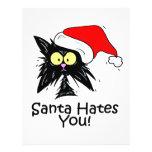 Santa Hates You Flyers