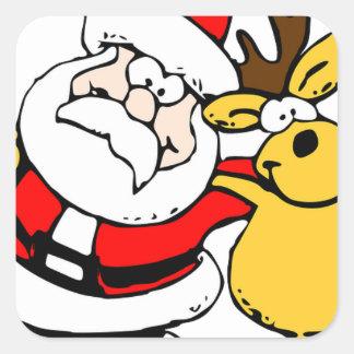 Santa Holiday Christmas Party Destiny Celebration Sticker