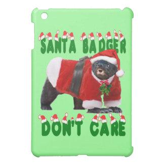 Santa Honey Badger Don t Care Case For The iPad Mini
