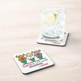 Santa Humor Coaster