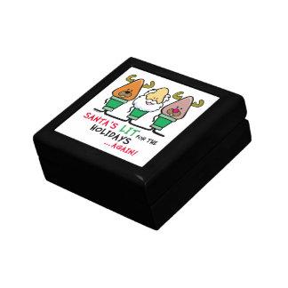 Santa Humor Keepsake Boxes