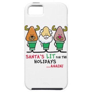 Santa Humor iPhone 5 Cover