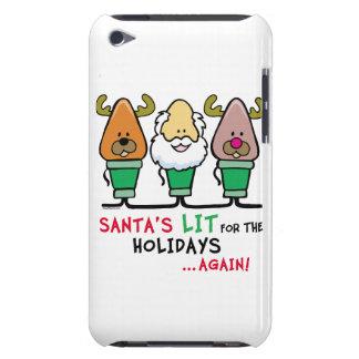 Santa Humor iPod Touch Case