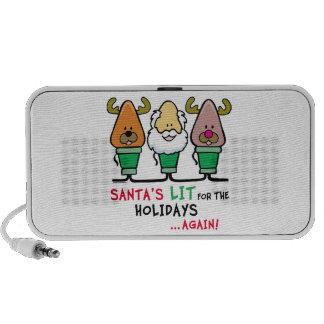 Santa Humor Mini Speakers
