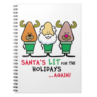Santa Humor Notebook