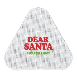 Santa I was framed -- Holiday Humor