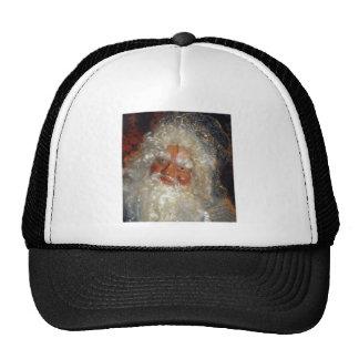 Santa in Workshop Mesh Hats