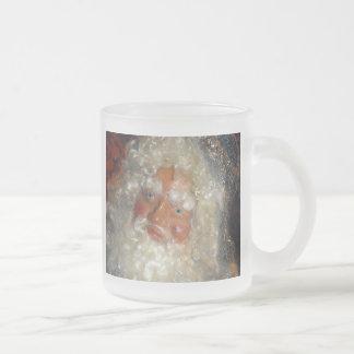 Santa in Workshop Coffee Mug