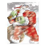 Santa is coming Postcard