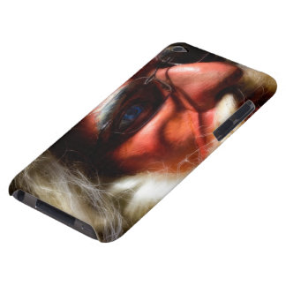 santa is here iPod Case-Mate cases