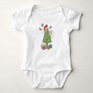Santa is real baby bodysuit