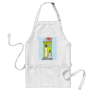 Santa is real...he just doesn't like you standard apron