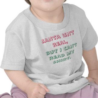 Santa isn t real Baby shirt