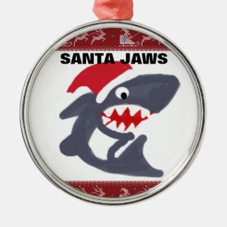SANTA JAWS Ornament