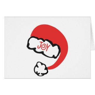 Santa Joy Card