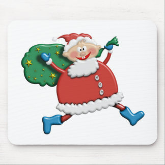 Santa Joy Design Mouse Pad