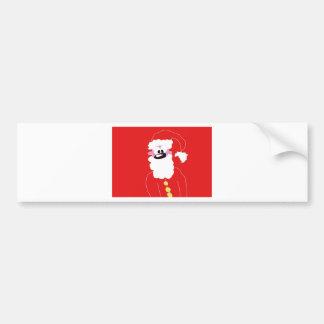 santa.jpg bumper sticker