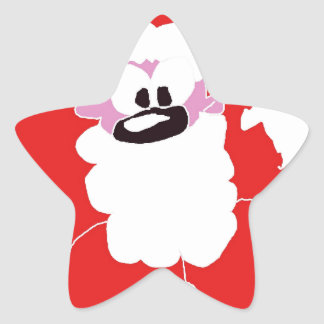 santa.jpg star sticker