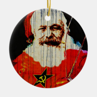 Santa Karl Christmas Ornament