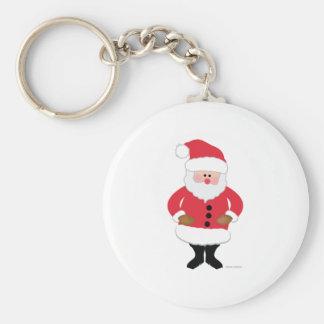 Santa Keychains