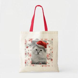 Santa Kitty bag