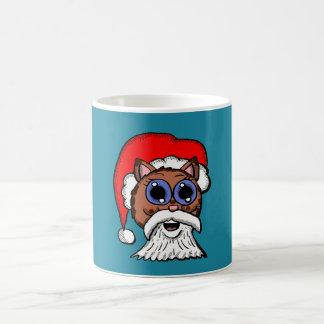 Santa Kitty Coffee Mug
