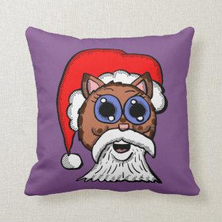 Santa Kitty Cushion