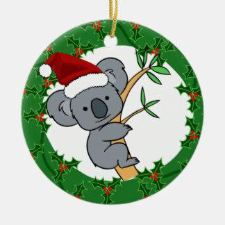 Santa Koala - Fair Dinkum Christmas Ornament