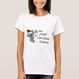 Santa Koala - Fair Dinkum T-Shirt