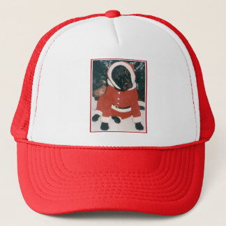 Santa Lab Trucker Hat